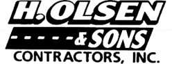 Welcome to our new website! | H. Olsen & Sons Contractors Inc. | Forestville, NY 14062